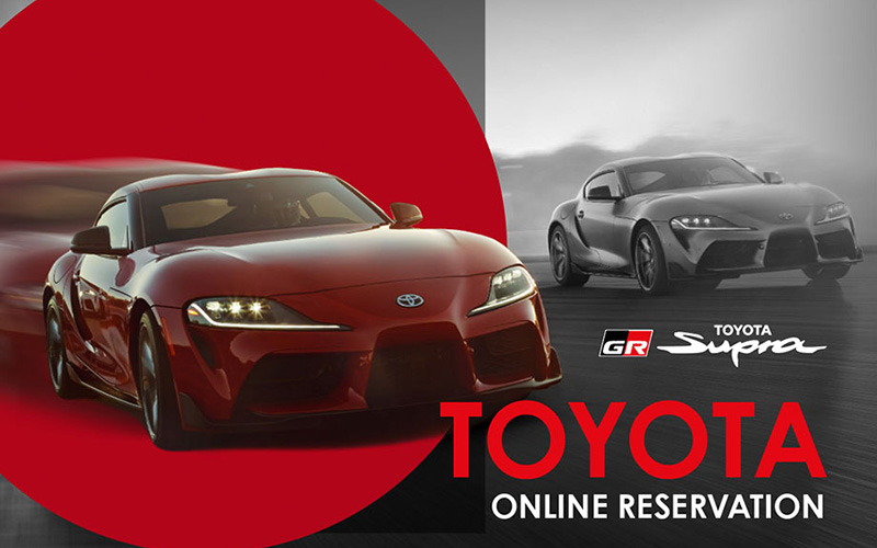 Toyota's Legend - Supra Pre-ordering System